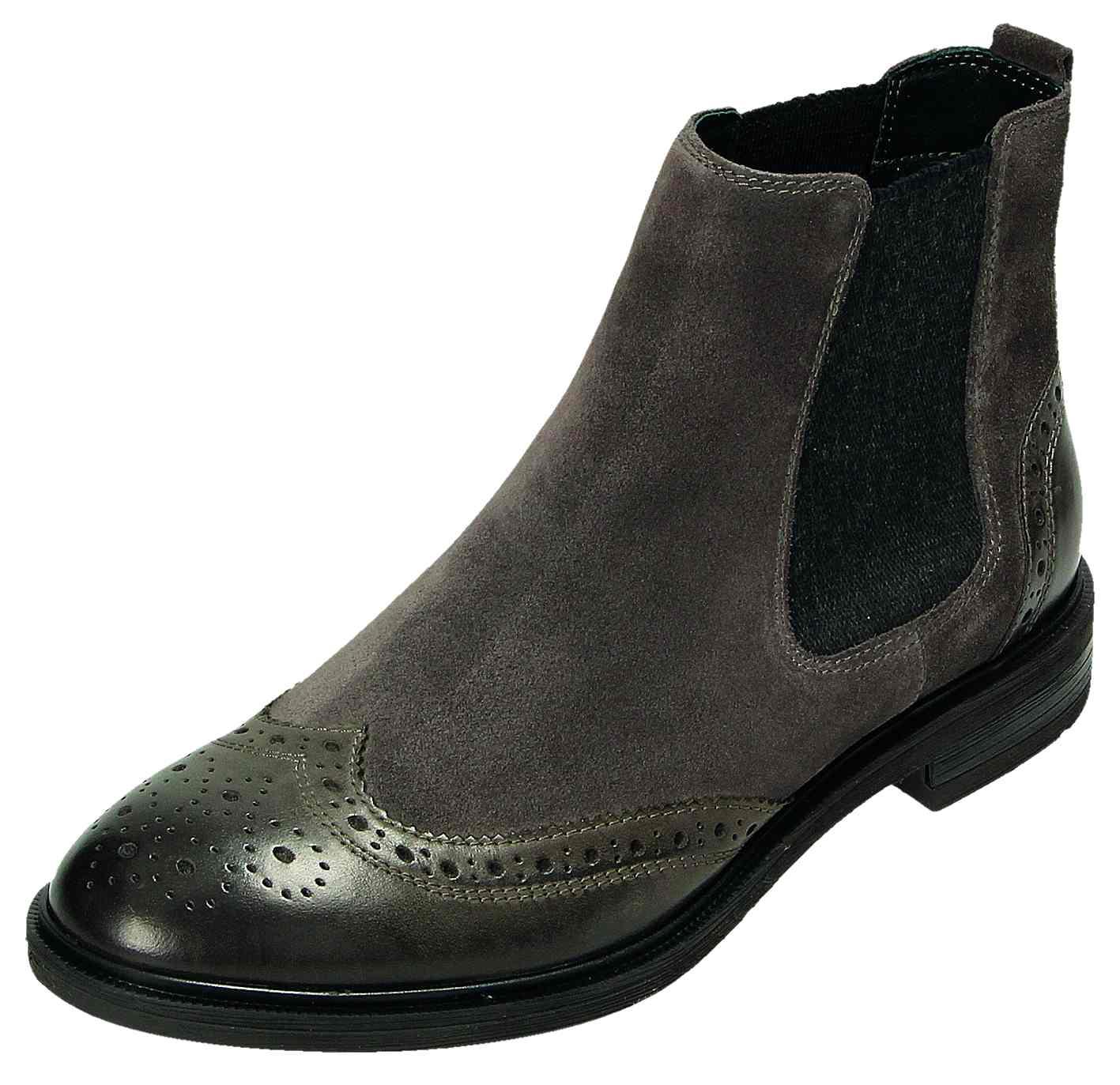 Klondike Damen GRAU Schuhe Stiefel/Stiefelette Damen-Stiefelette Grau WH-162H03 GRAU Damen 246fd4