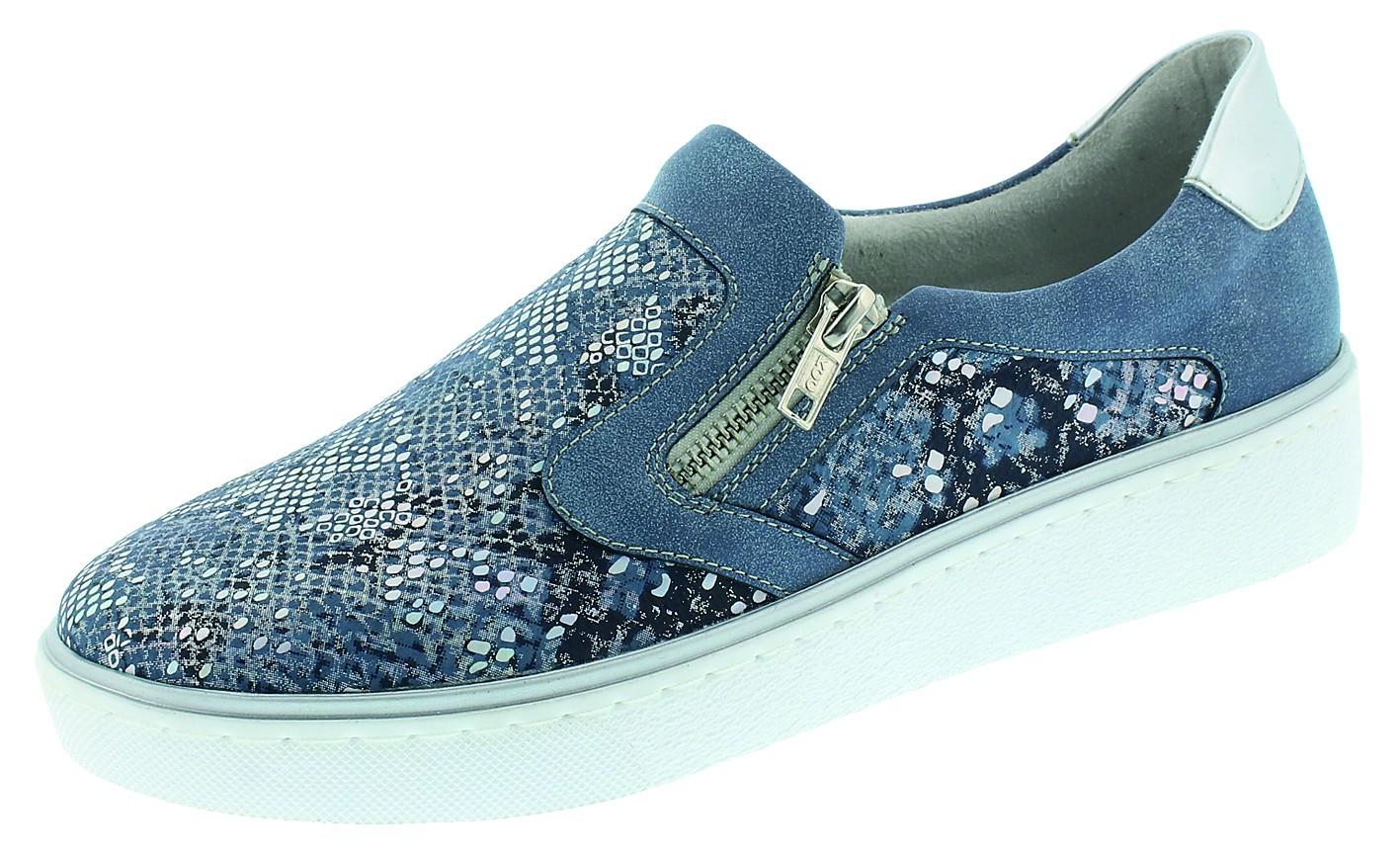 Remonte Damenschuhe sportlich D.Sneaker Blau R5504 12 BDRIB/
