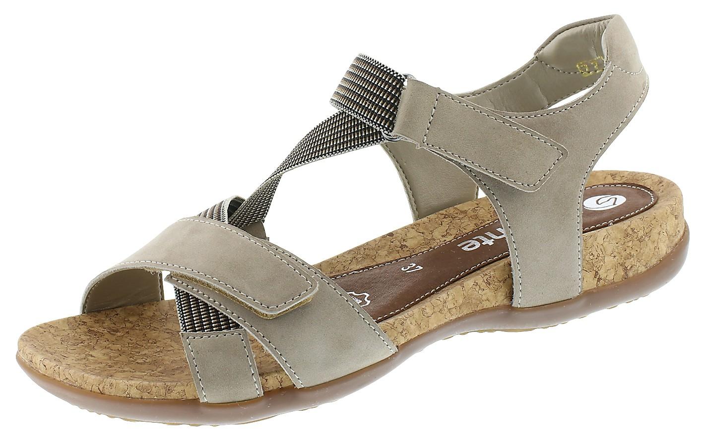Remonte Damen Sandale-Pantolette D.Sandaleette Grau R3257 42 STEEL/