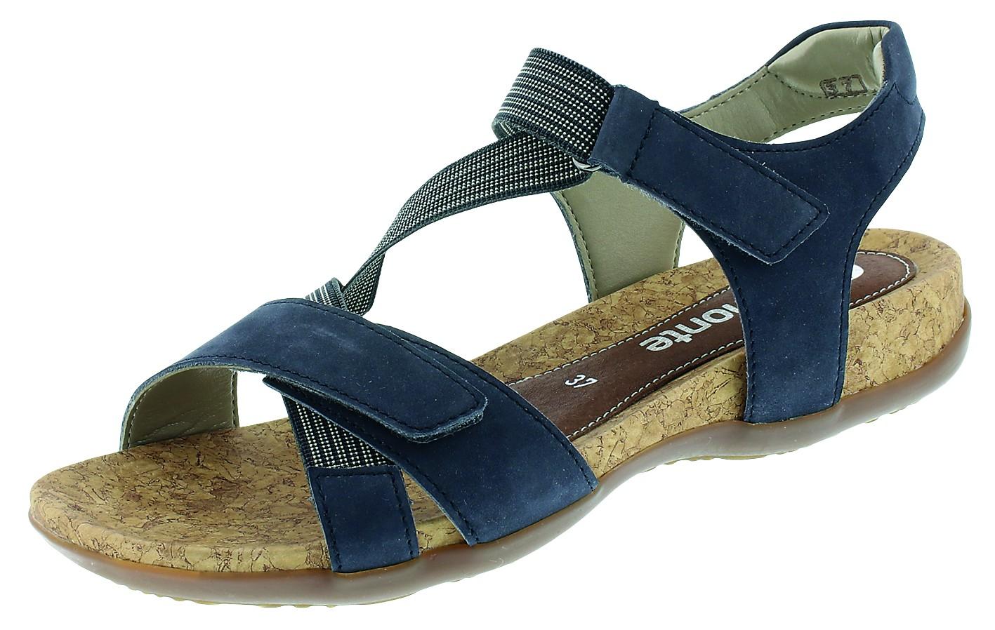 Remonte Damen Sandalen-Pantolette D.Sandalette Blau R3257 14 PBZIFI