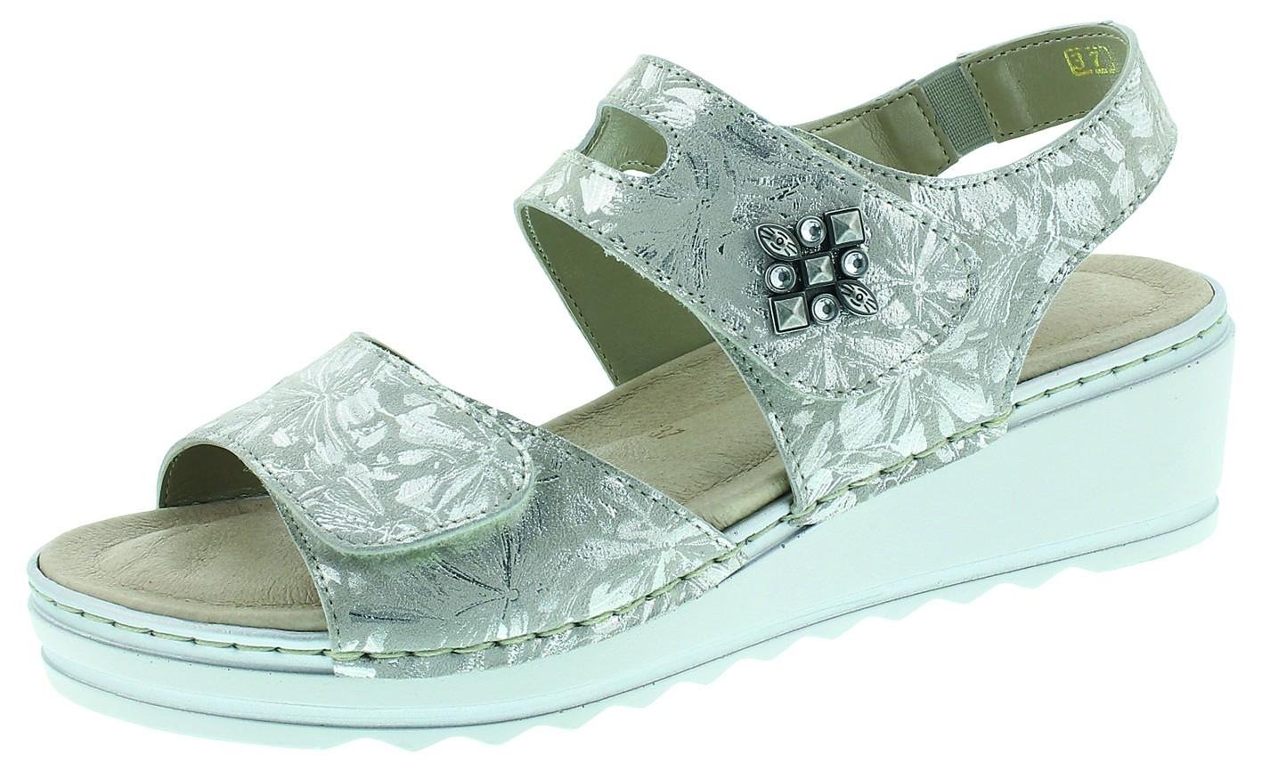 Remonte Damen Sandale-Pantolette D.Sandaleette Grau R6055 40 FOG/