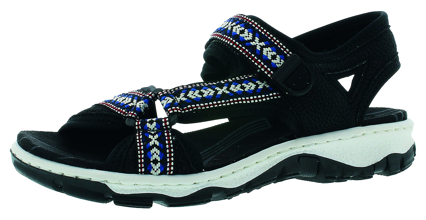 Rieker Damen Sandale blau 64296 14