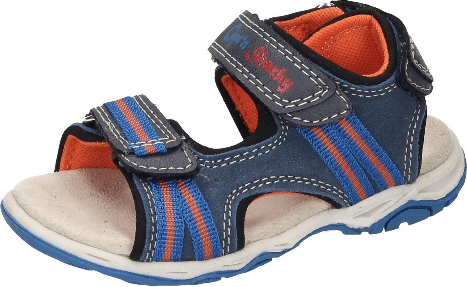 Capt'n Sharky Kinder Jungen Schuhe Jungen Sandale blau Veloursleder NEU