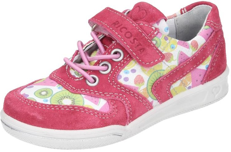 Ricosta Kinder Mädchen Schuhe Mädchen Halbschuh Weite M mehrfarbig Veloursleder  | Neues Produkt