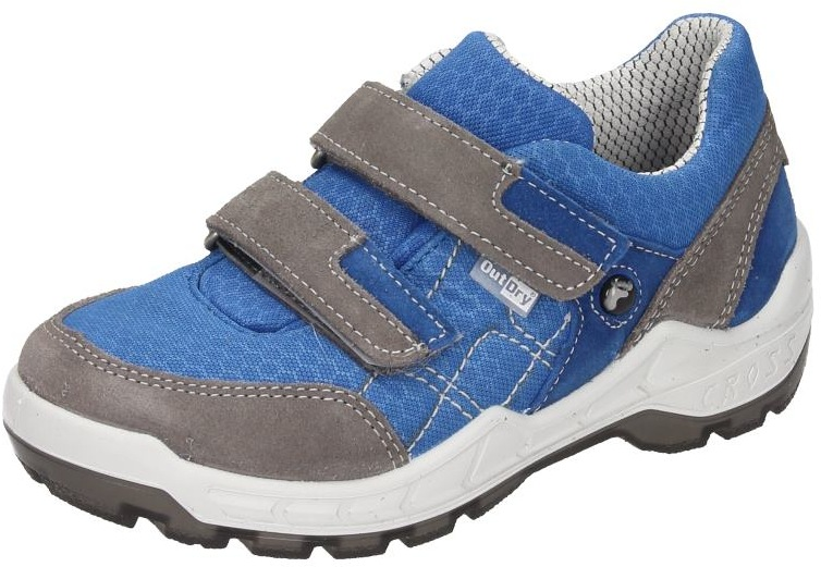 Ricosta Kinder Jungen Schuhe Jungen Halbschuh Klett blau Veloursleder 430843