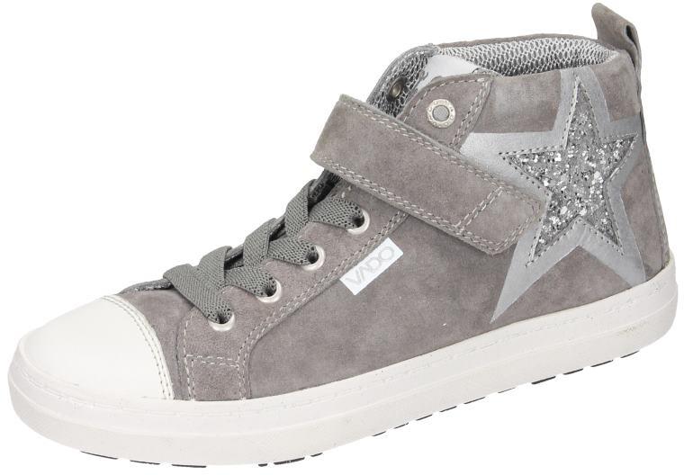 Vado Vado Vado Kinder Mädchen Schuhe Mädchen Turnschuhe grau Leder NEU e1b7e4