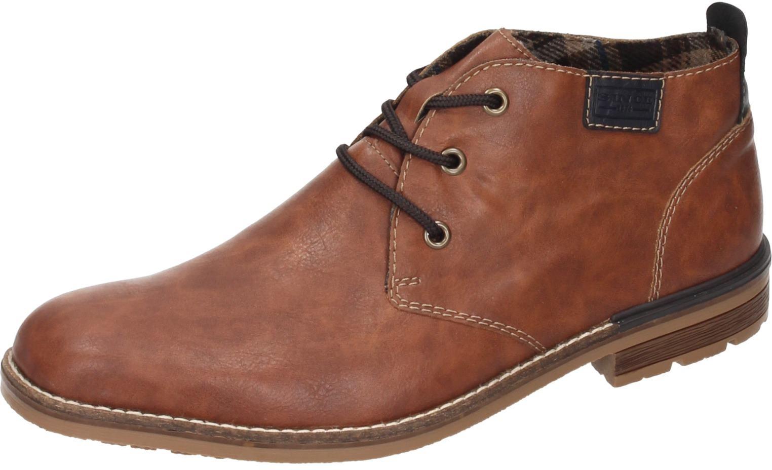 Rieker Herren Schuhe Schuhe Schuhe Herren-Stiefel braun Synthetik    Moderne Technologie  5b97a2