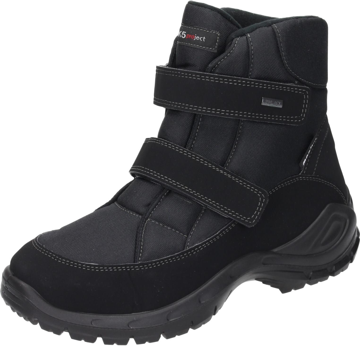Polar-Tex Herren Schuhe Herren-Stiefel schwarz schwarz schwarz Textil NEU 530394