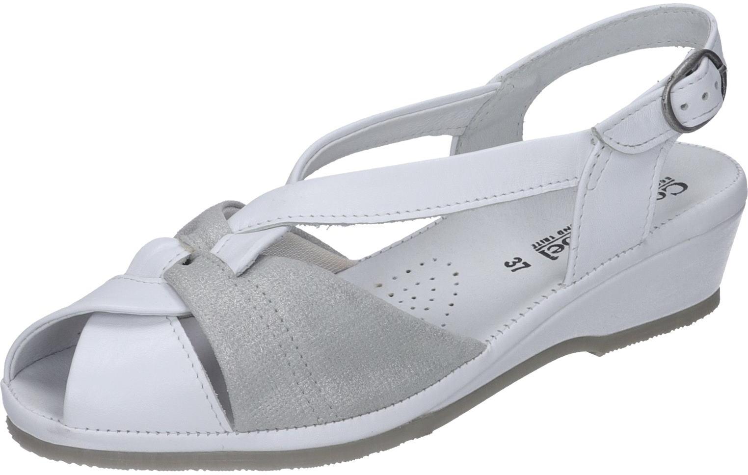 Comfortabel Schuhe Damen 710817 Glattleder weiß Damen