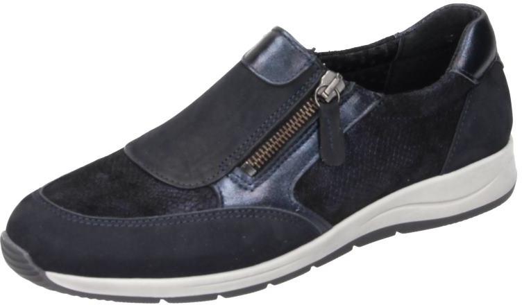 Comfortabel Damen Schuhe Damen-Slipper - G blau Nubukleder 942134  | Schönes Aussehen  | Preiszugeständnisse  | Die Königin Der Qualität