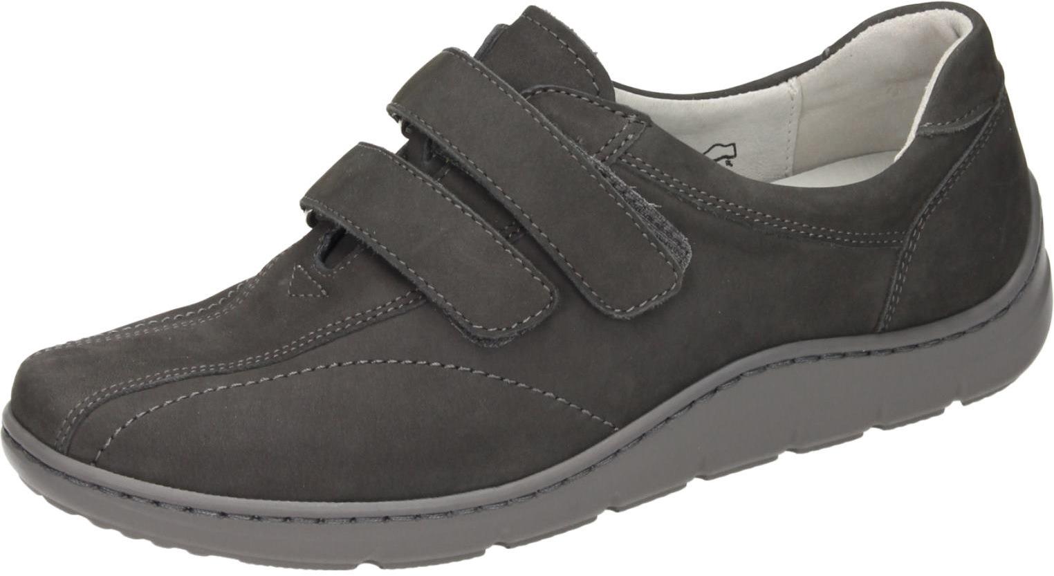 Waldläufer Damen Schuhe Damen-Slipper - H grau grau grau Nubukleder 942380 828137