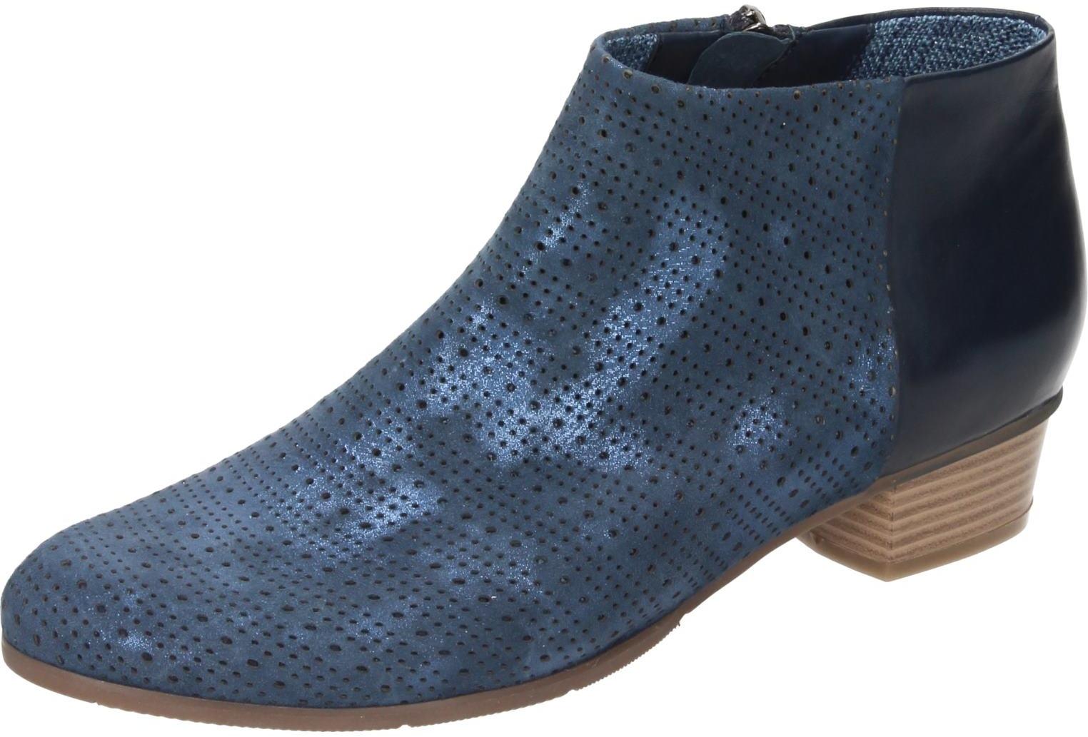 Piazza Damen Schuhe Damen-Stiefelette blau/navy 961837
