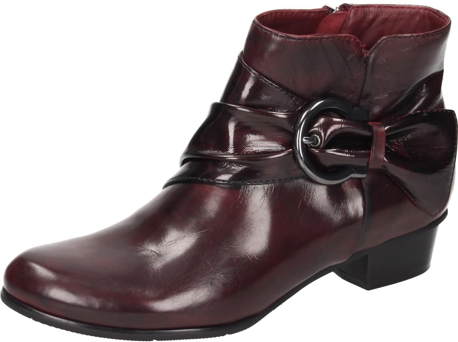 Piazza Damen Schuhe Damen Stiefelette sangria   Clearance