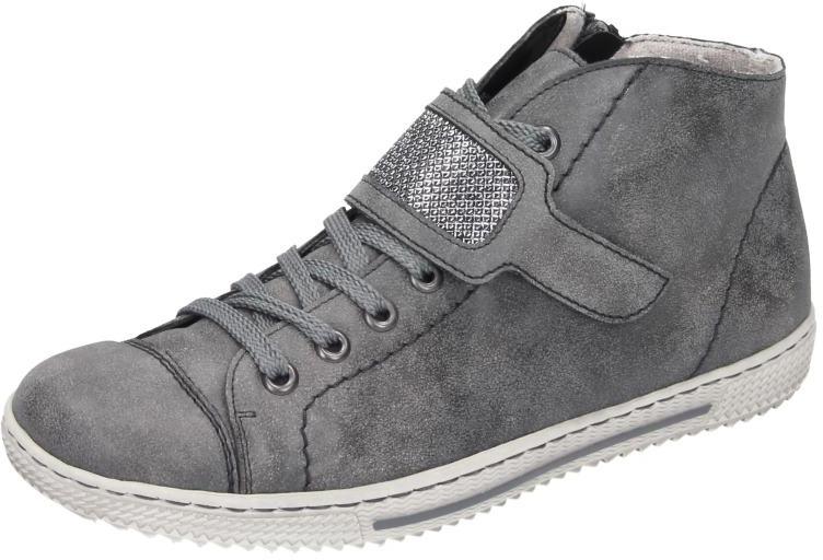 Rieker Damen Schuhe Schuhe Schuhe Damen-Stiefel grau Synthetik 1b677a