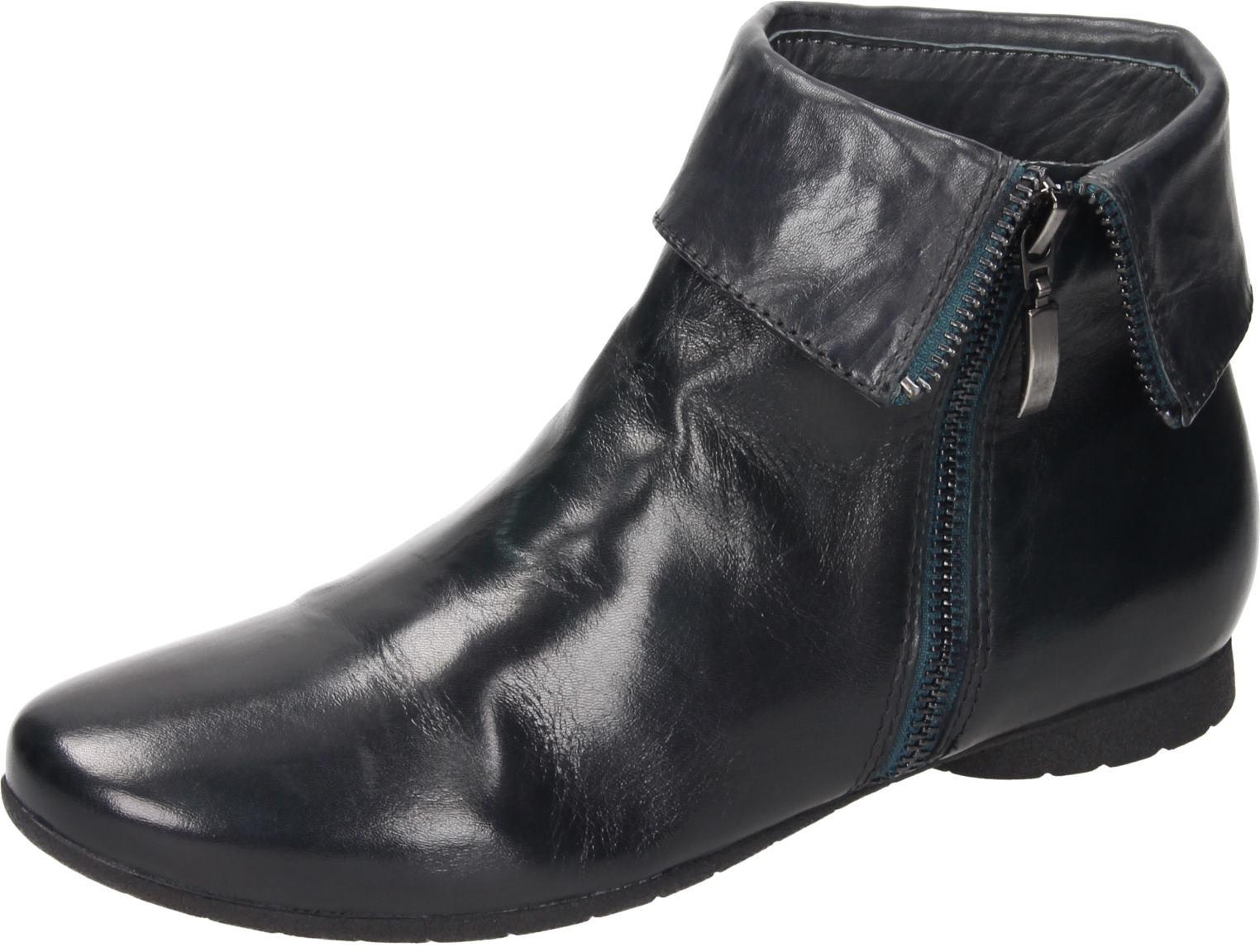 Piazza Damen Schuhe Damen-Stiefelette petrol 991196