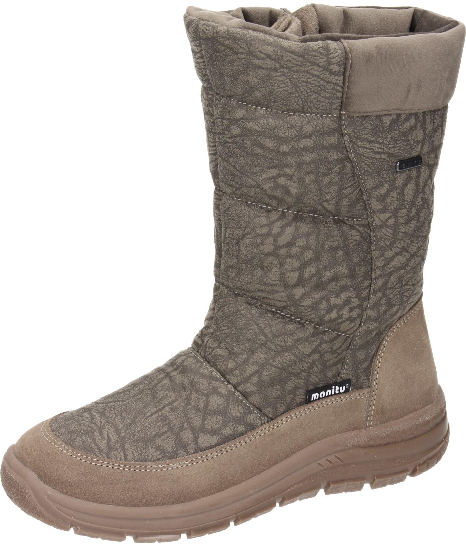 Polar-Tex Damen Schuhe Damen-Stiefel braun Synthetik NEU