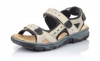 Rieker Damen Trekking Sandale Beige