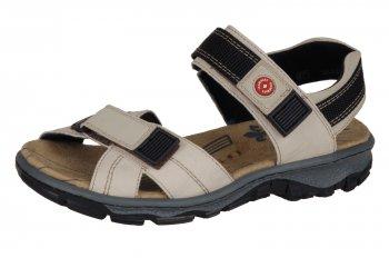 Rieker Damen Trekking Sandale Crema