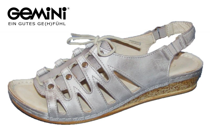 Sandale Gemini grau Günstig Kaufen Original Verkauf Usc8tq7s