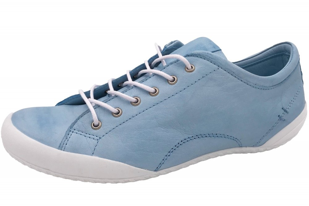 Andrea Conti Sneaker Blau