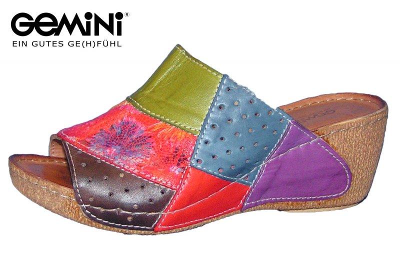 Pantolette Gemini bunt Wiki Verkauf Online K8vYn38crW
