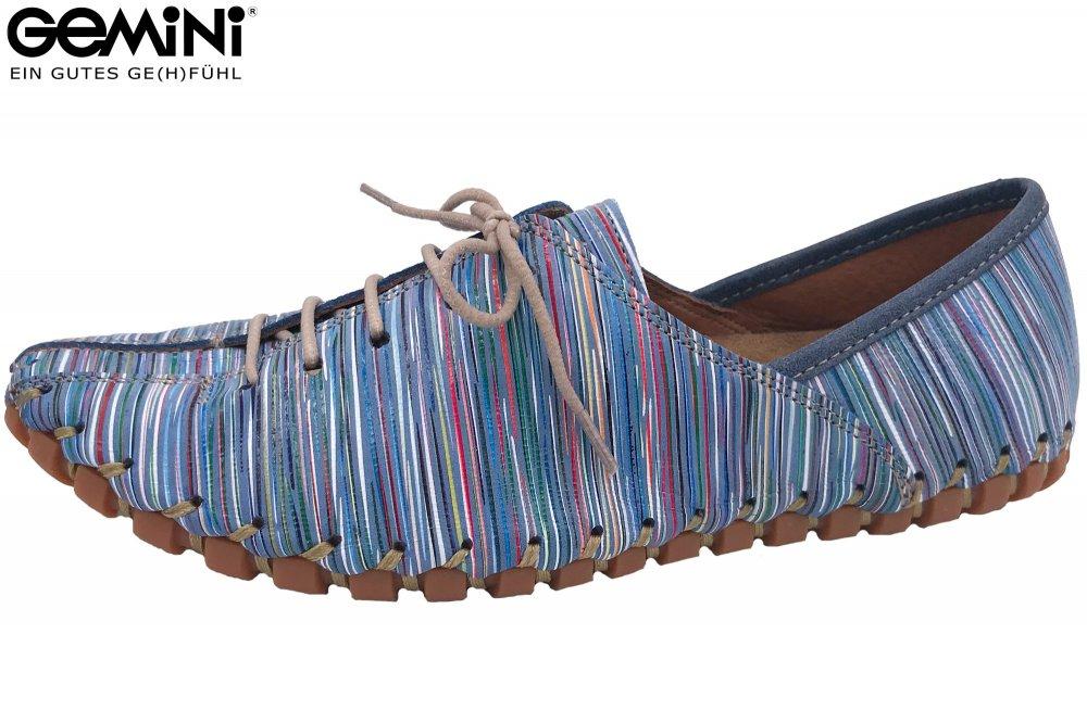 Gemini Schnür Schuhe Blau