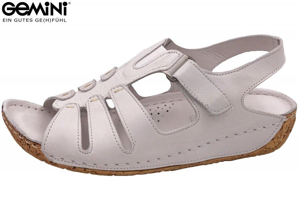 Gemini Sandale Weiß