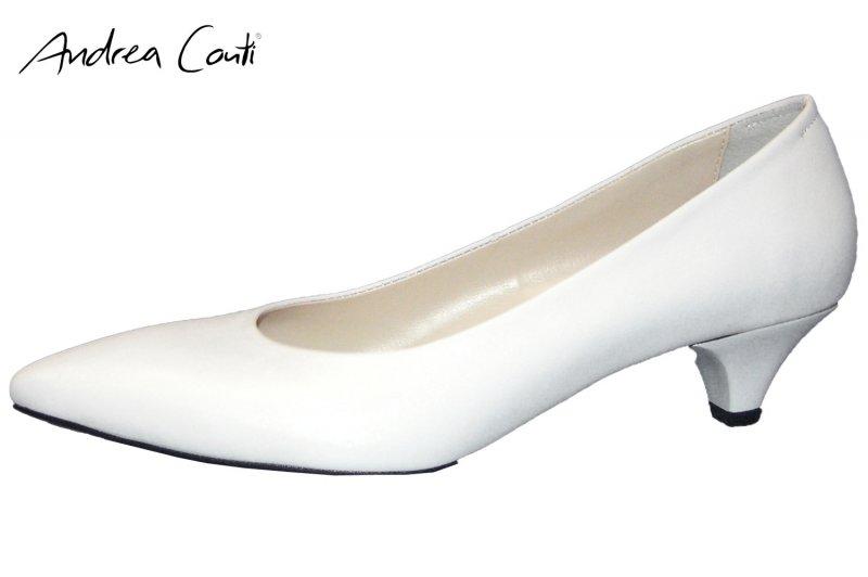 Andrea Conti Damen Pumps Weiß