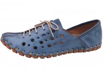 Gemini Damen Sommer Schuhe Blau