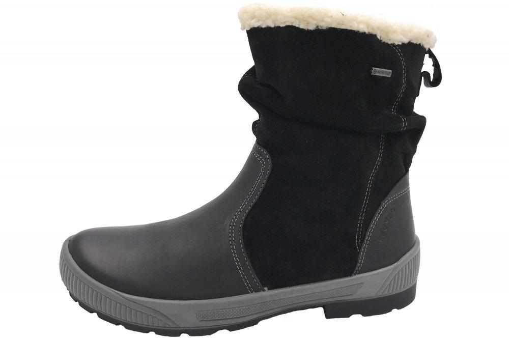 überlegene Materialien Genieße den niedrigsten Preis Kauf authentisch Legero Damen Stiefel Taro Schwarz Gore-Tex