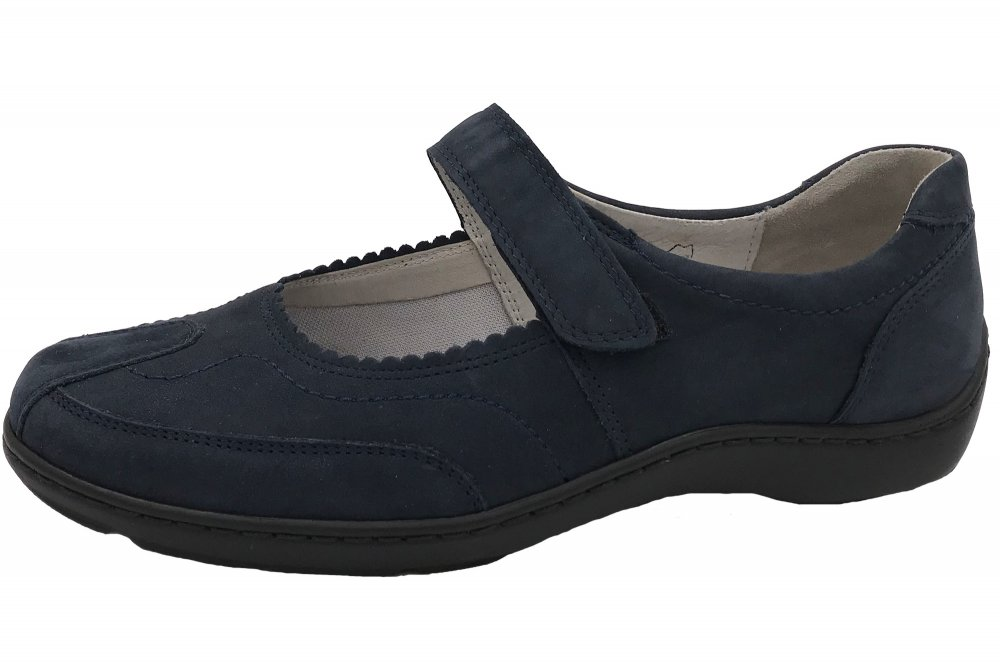 purchase cheap 1a110 70dbc Waldläufer Damen Schuhe Henni Blau
