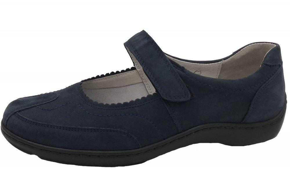 Waldläufer Damen Schuhe Henni Blau