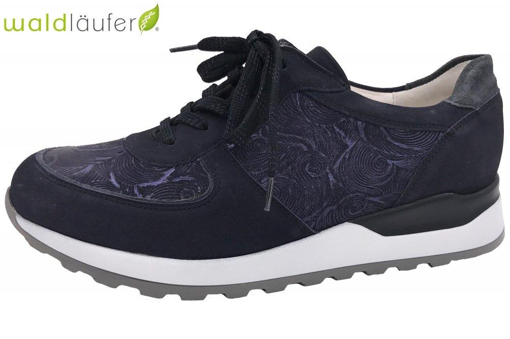 hot sale online 5cbb1 e1755 Waldläufer Damen Schuhe Sneaker Blau