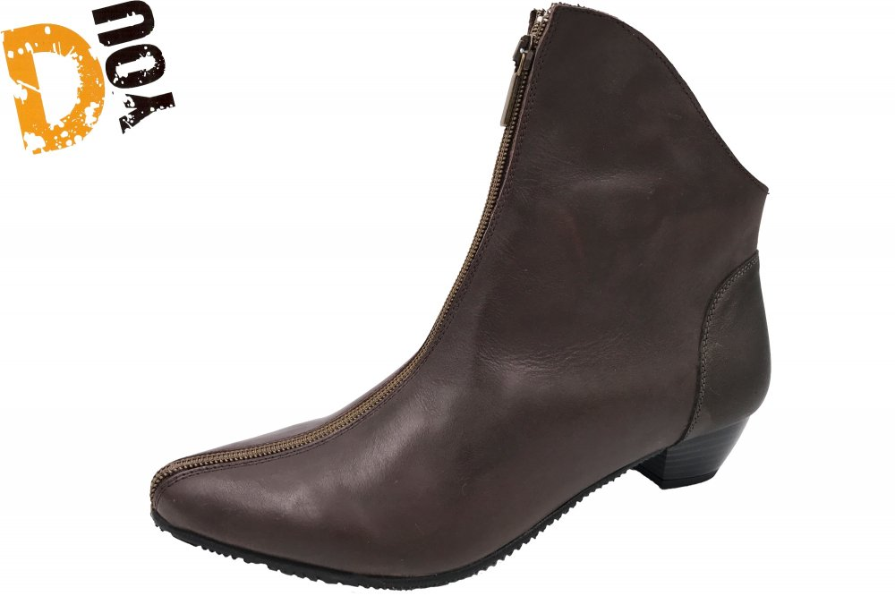 Double You Damen Stiefelette Braun