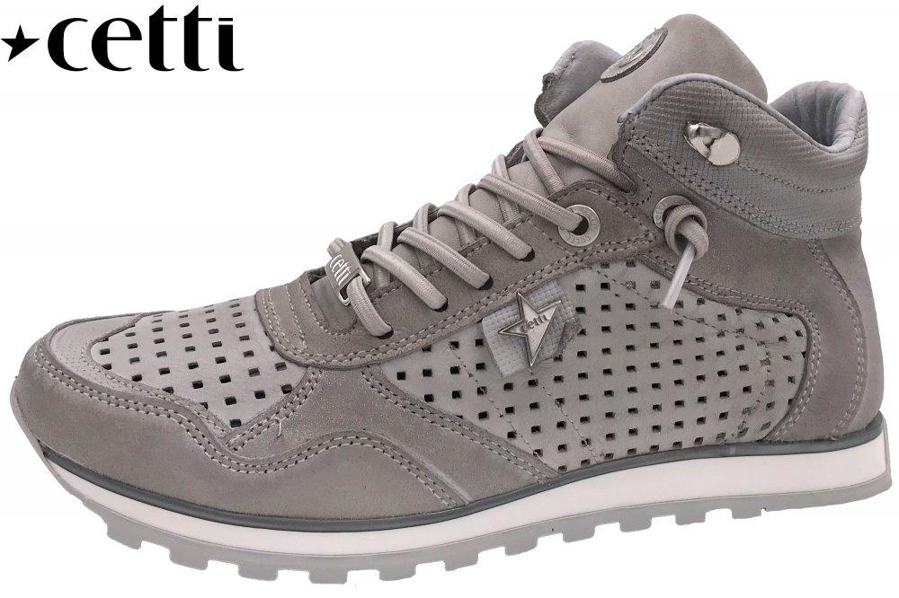 Cetti Damen Sneaker High Grau