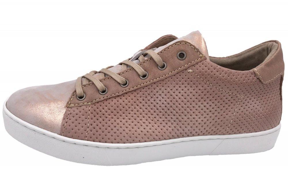 MJUS Damen Sneaker Rosa Metallic