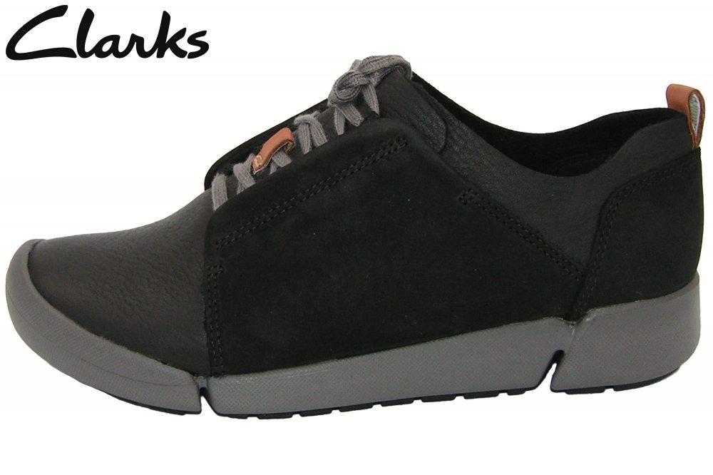 Clarks Damen Schuh Tri Bella Schwarz