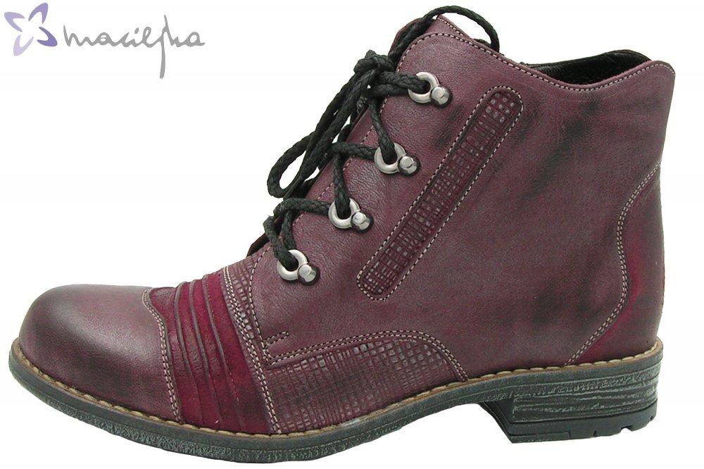 Maciejka Damen Boots Bordeaux