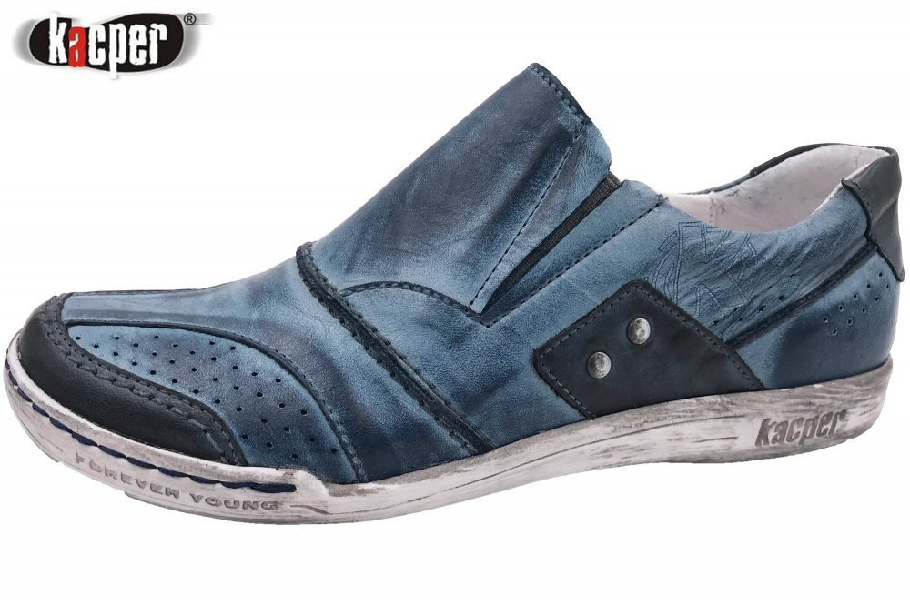 Kacper Damen Slipper Blau