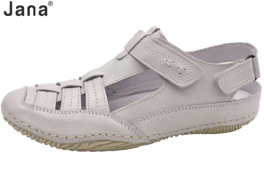 Jana Damen Sandale Weiß