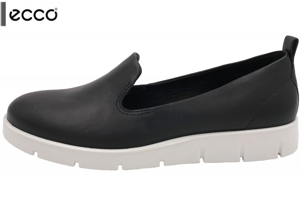 ECCO Bella Damen Slipper Schwarz