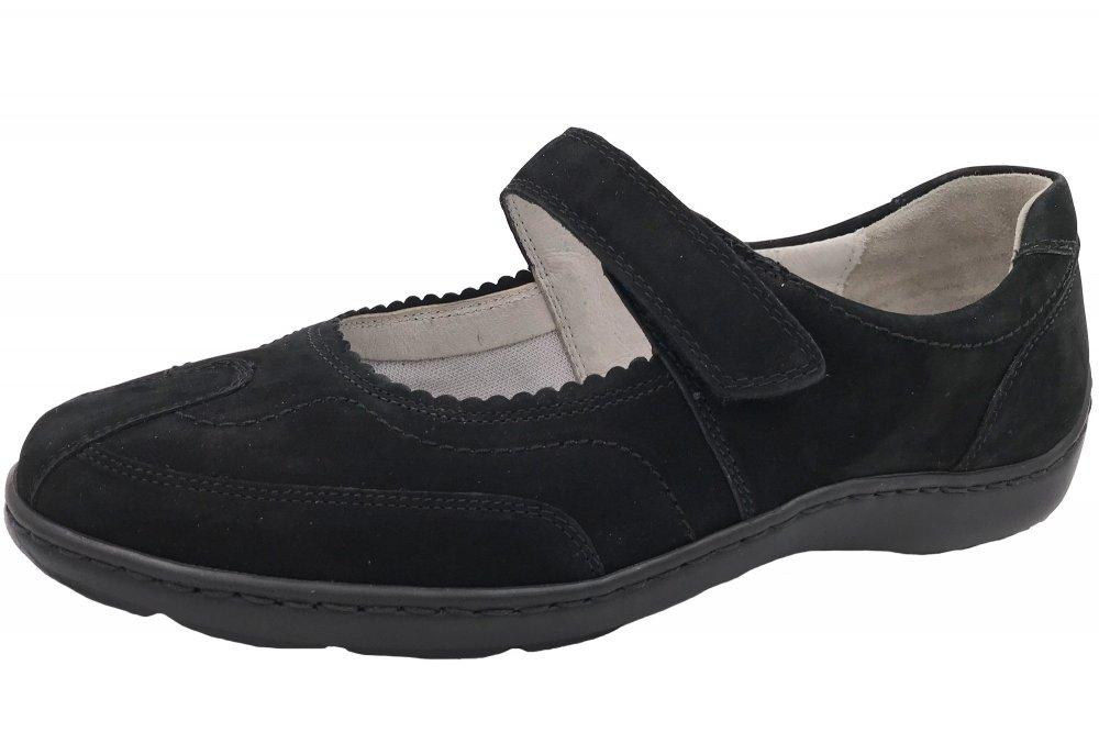 Waldläufer Damen Schuhe Henni Schwarz