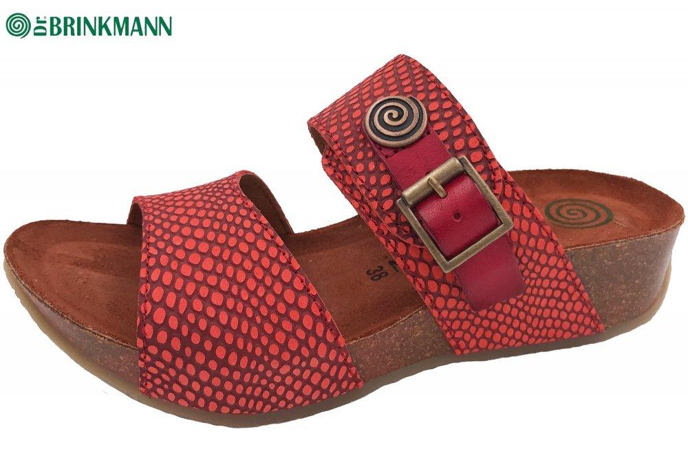 Dr. Brinkmann Damen Pantolette Rot