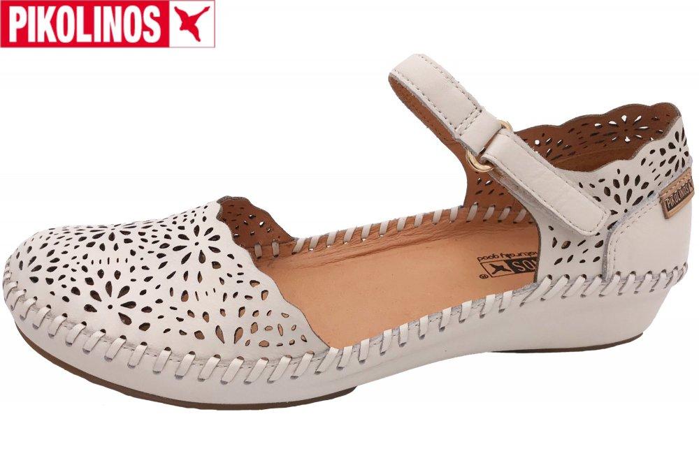 Pikolinos Puerto Vallarta Damen Sandale Weiß
