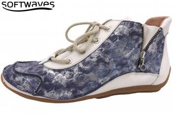 Softwaves Schnürer Blau Weiß
