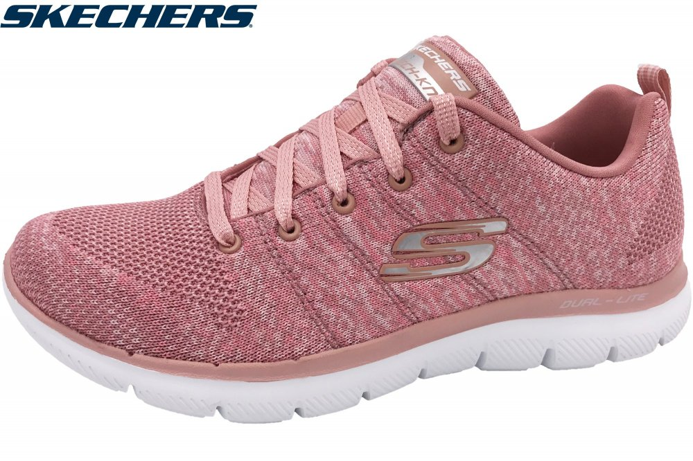 Skechers Damen Flex Appeal 2.0 Rosa