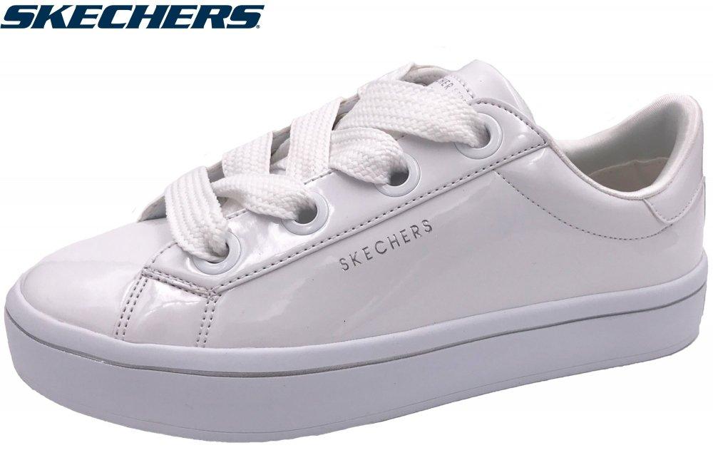 gemütlich frisch Sonderteil offizieller Preis Details zu Skechers Hi-Lites - Slick Shoes Damen Sneaker Weiß Lack Schuhe  959 WHT NEU