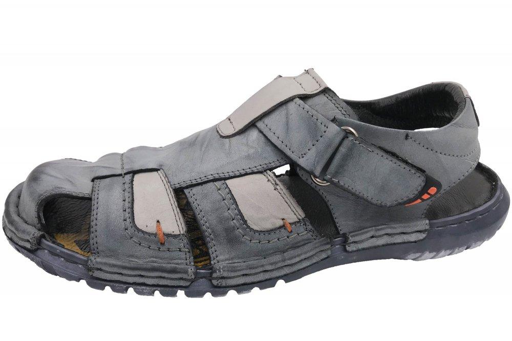 Krisbut Herren Sandale Blau