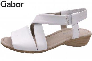 Gabor Damen Sandale Weiß