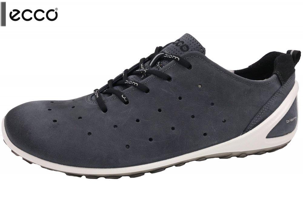 776077b649b140 Ecco Biom Lite Herren Sneaker Blau